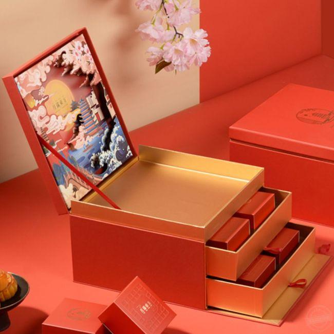 制作礼品盒 月饼包装盒