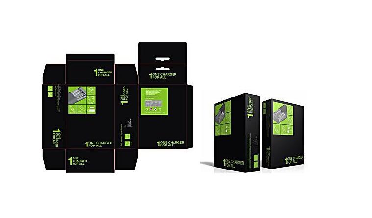 包装盒彩盒 设计图