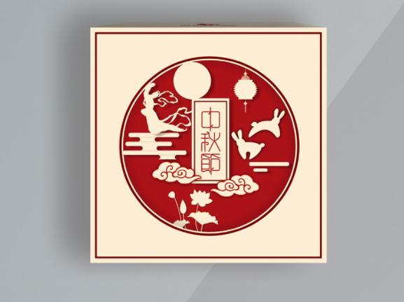 礼品包装盒印刷 月饼礼盒展示