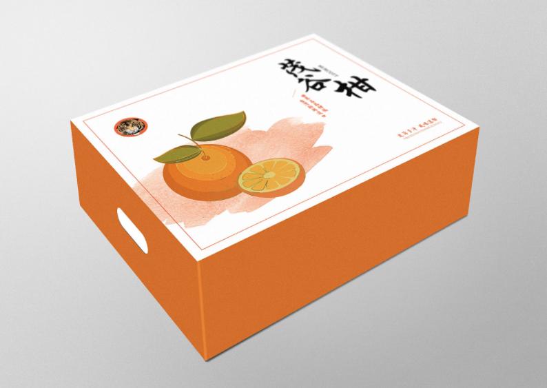 水果包装箱 样品图