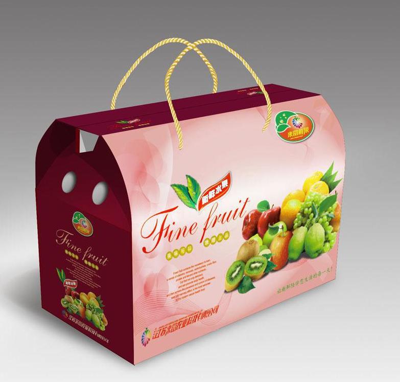 水果包装箱 包装图