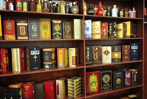 酒盒印刷 展示图