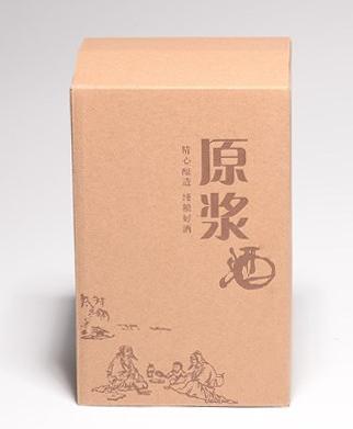 酒盒印刷 样品图