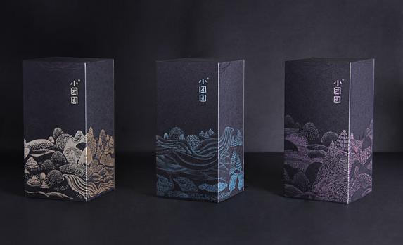 设计创意包装盒 盒型图