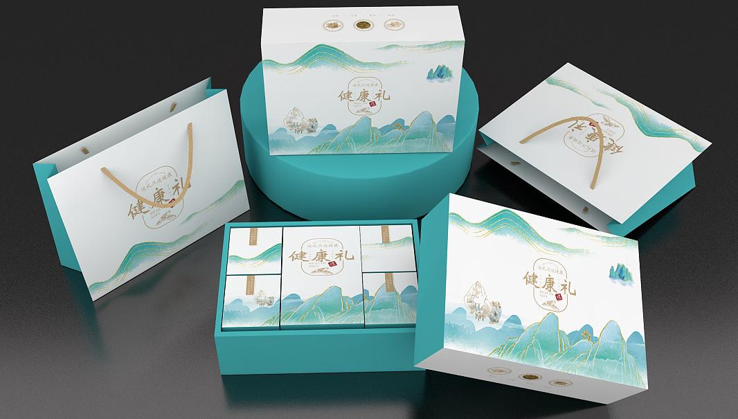 保健食品包装礼盒 展示图