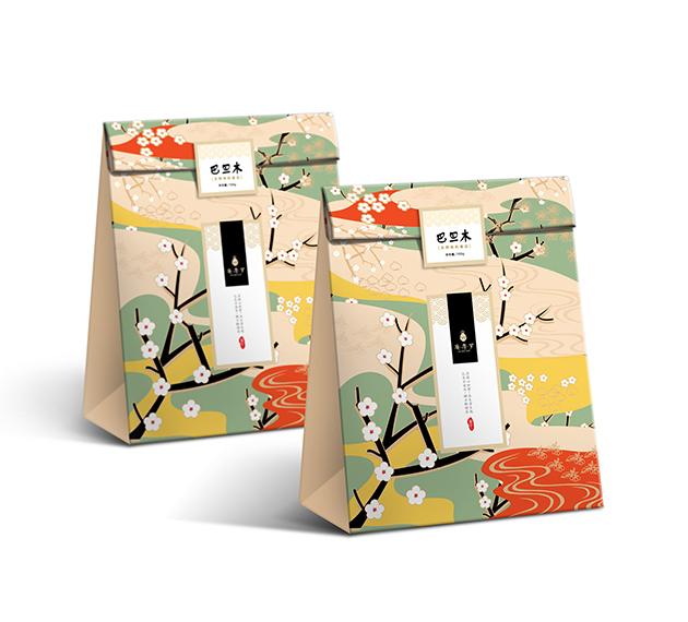 插画包装盒 纸袋图