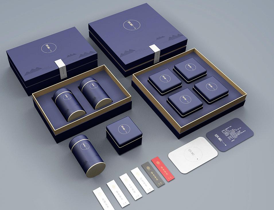 茶叶礼品盒定制 案例图